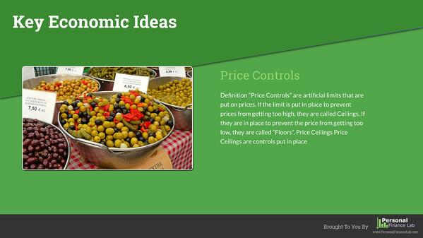 key economic ideas template