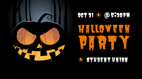 digital signage for halloween