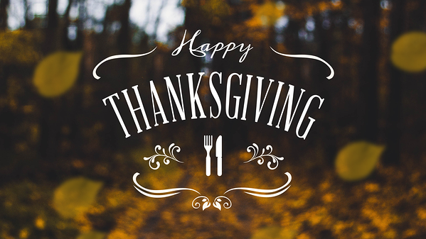 Happy Thanksgiving Digital Signage Template