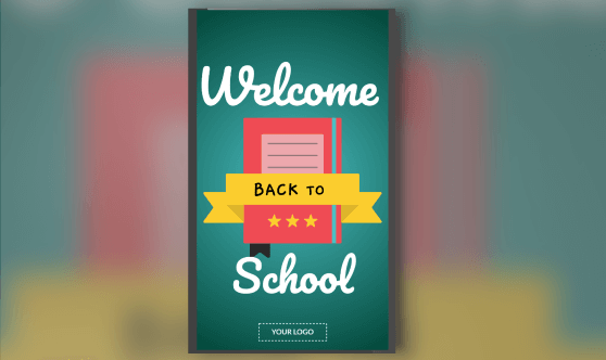 welcome back to school for ds portrait