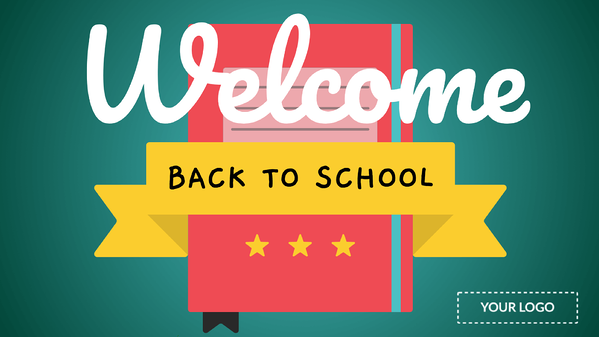 welcome back to school for digital signage