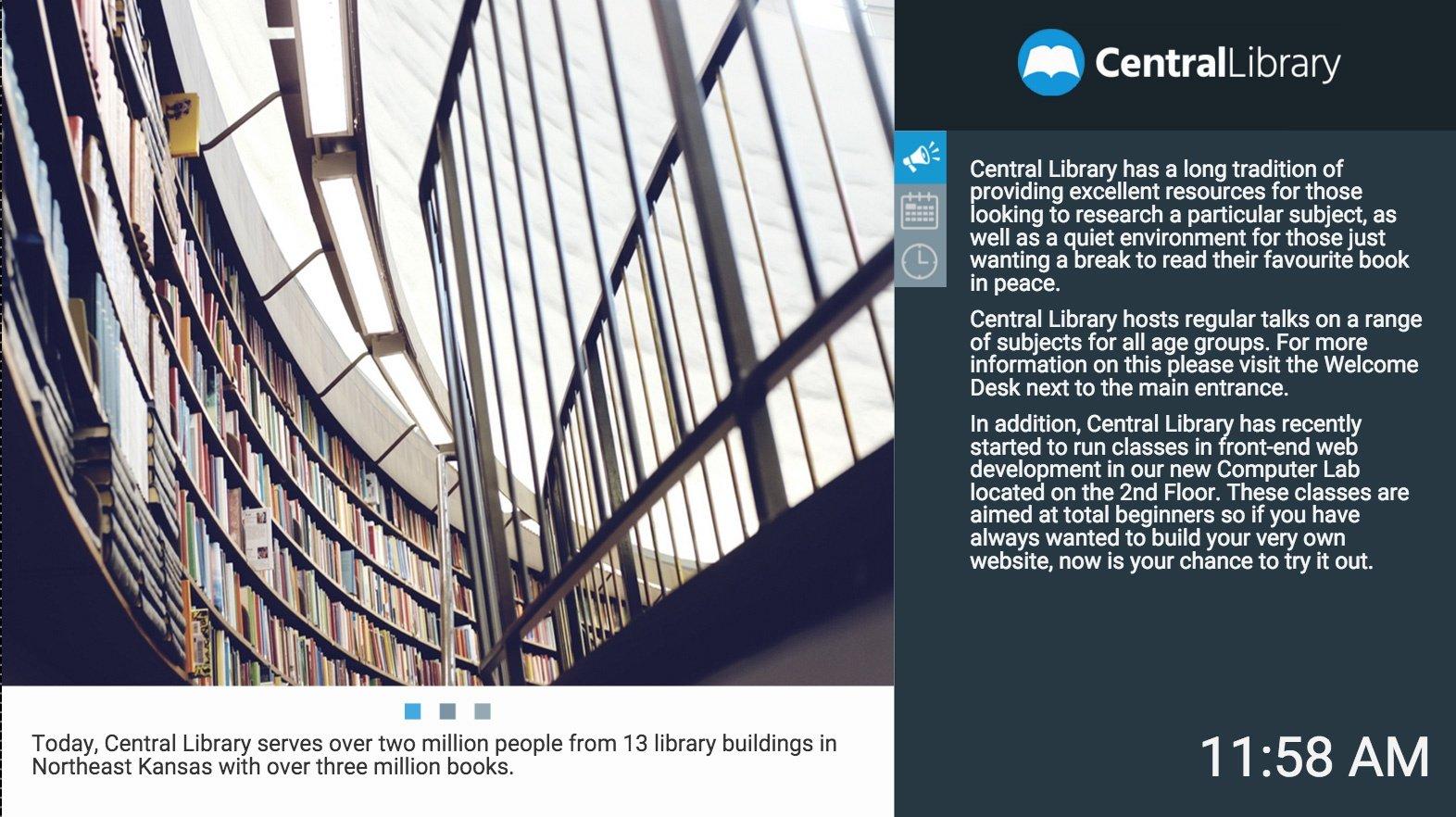 Presentation Template RVA Library 1 Landscape