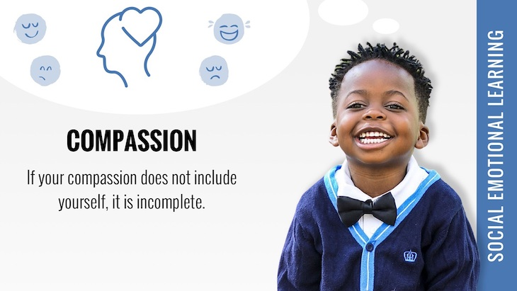 social emotional learning compassion poster