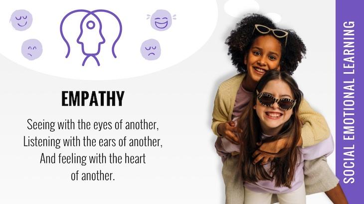 social emotional learning empathy poster