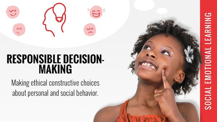social emotional learning responsible decision making poster