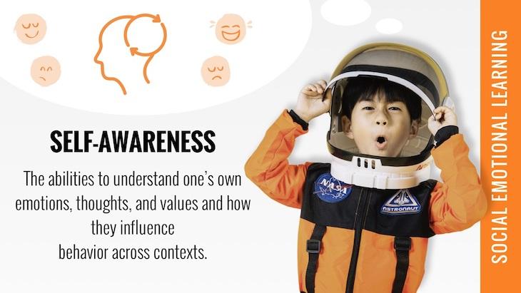 social emotional learning self awareness poster