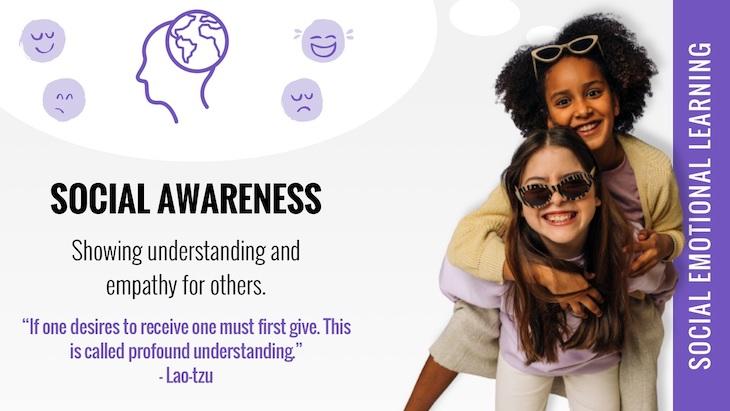 social emotional learning social awareness poster
