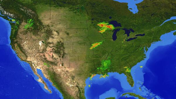 weather maps for digital signage
