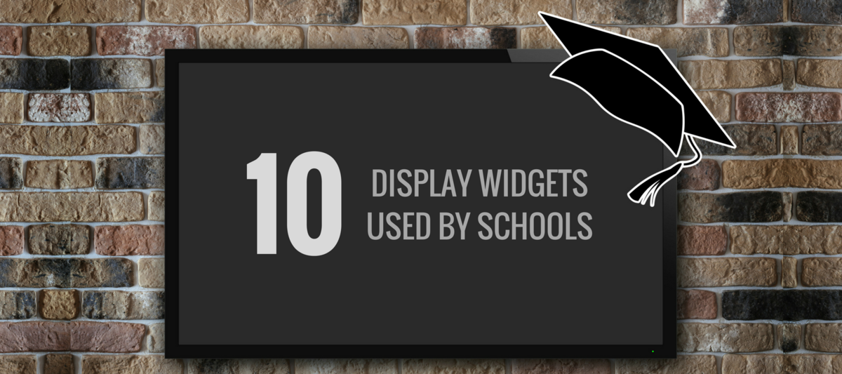 10 Display Widgets