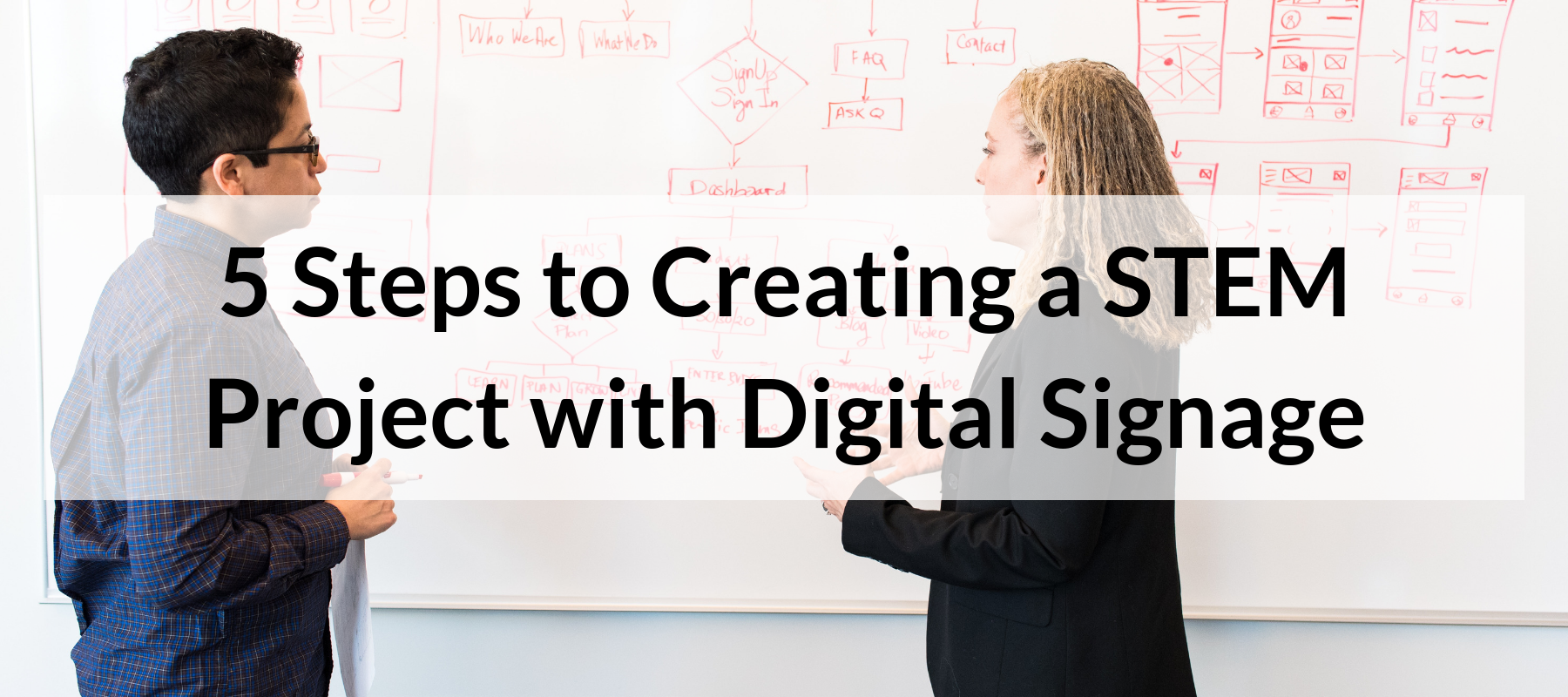 5 Steps to Creating a STEM Project with Digital Signage