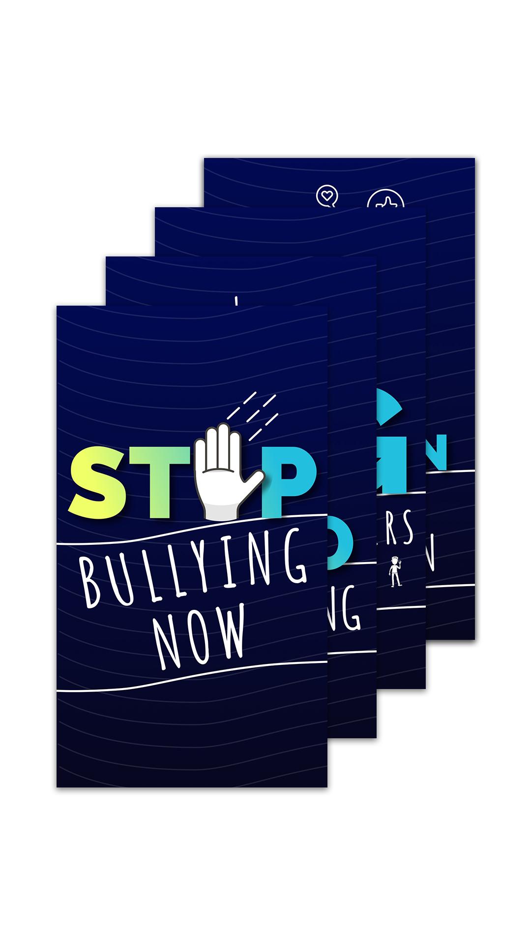 Anti Bullying Collage Portrait.