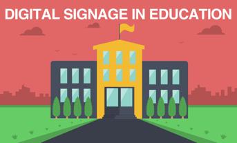 education digital signage