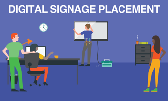 Digital Signage Placement - It's all about location, location, location