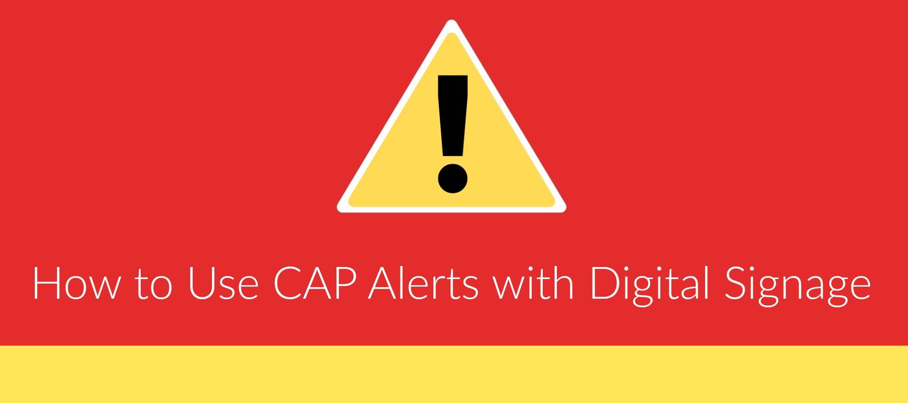 CAP Alerts
