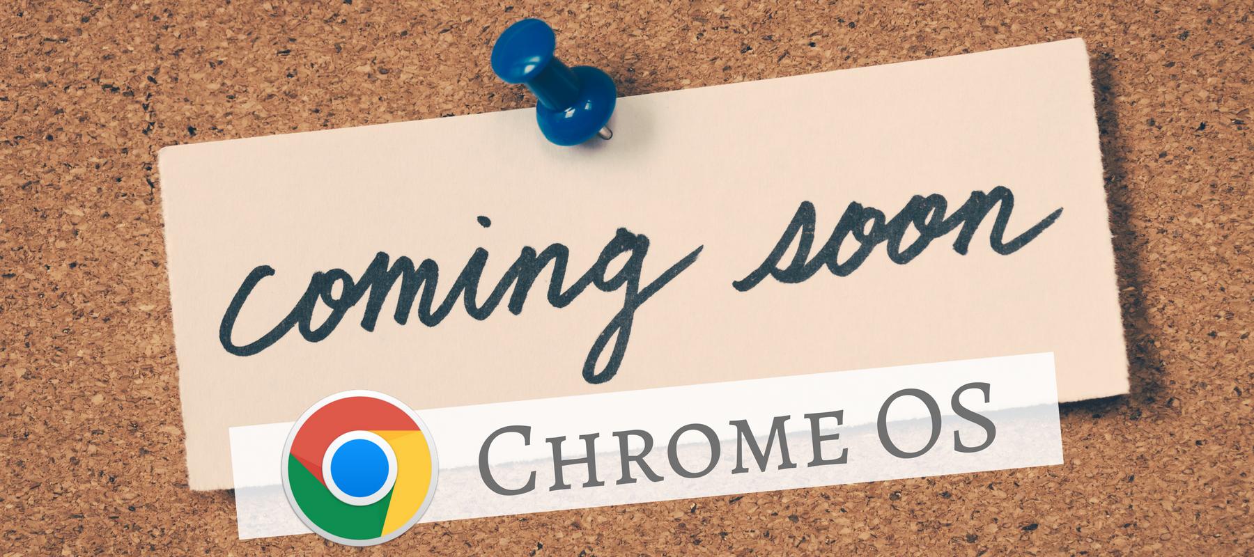 Chrome OS HEader