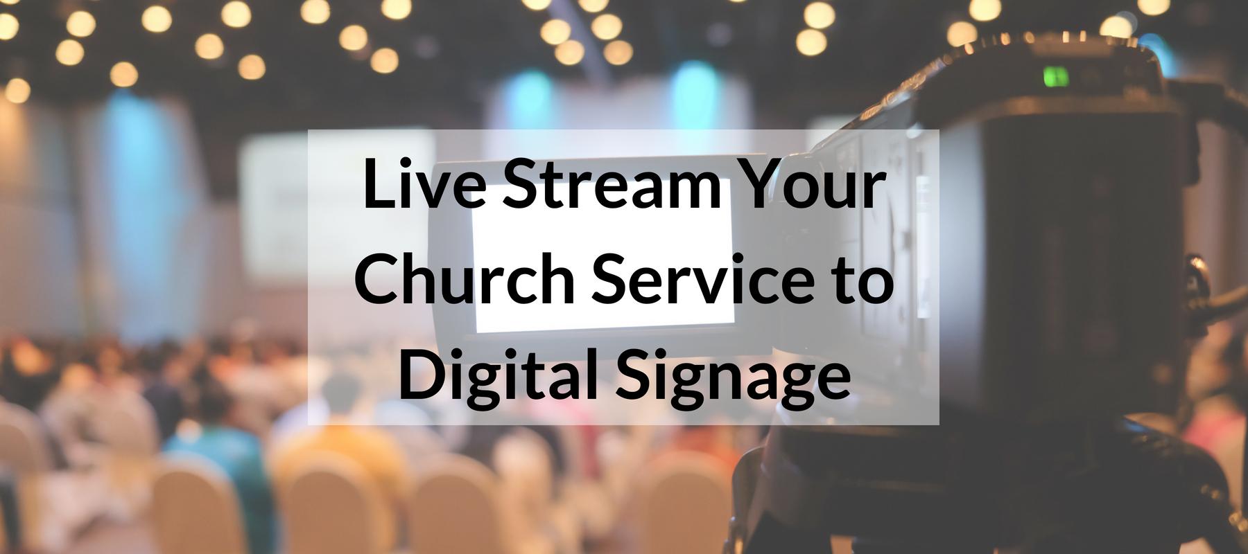 Church Digital Signage