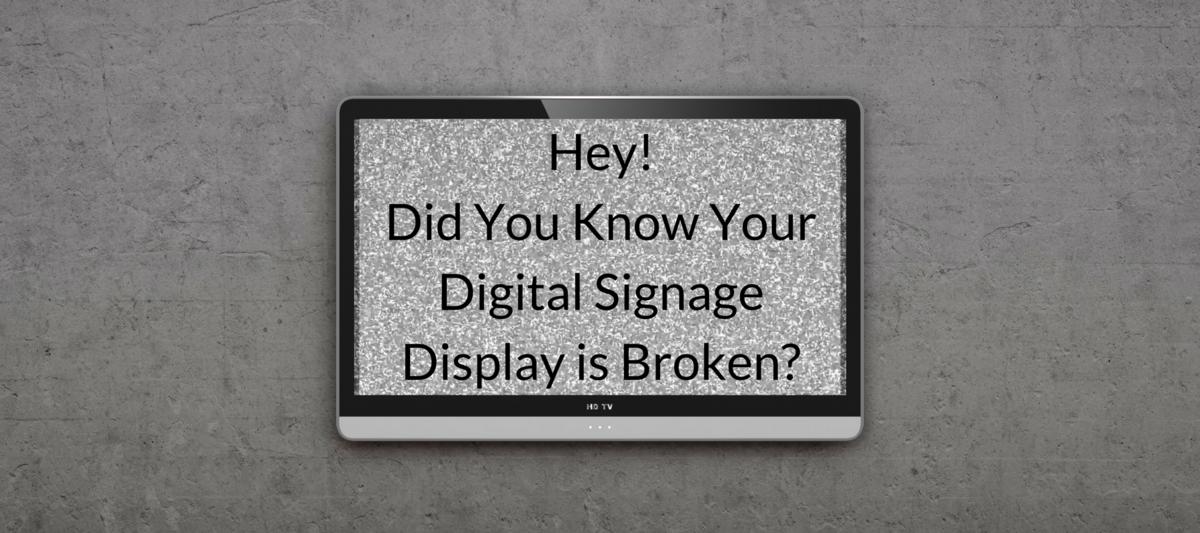 Display Monitoring Post