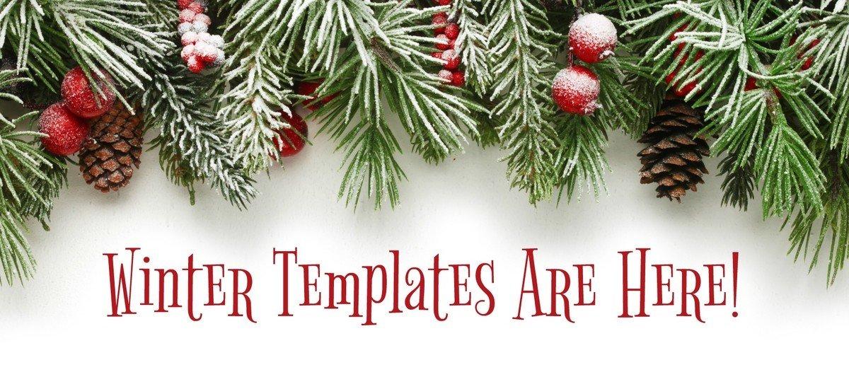 Holiday Themed Digital Signage Templates
