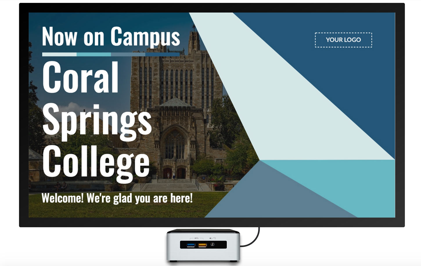 Universities Save Money with Digital Signage
