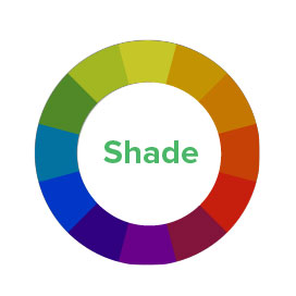 Color Shade Diagram