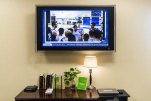 Washington & Lee University free digital signage