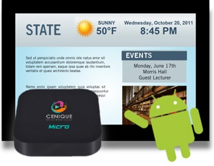 Media Player - C110 Android Dual Core