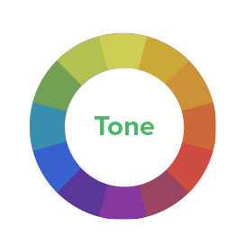 Color Tone Diagram