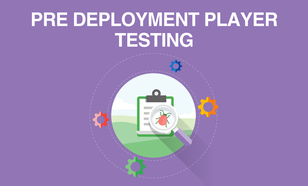 Pre Deployment Player Testing