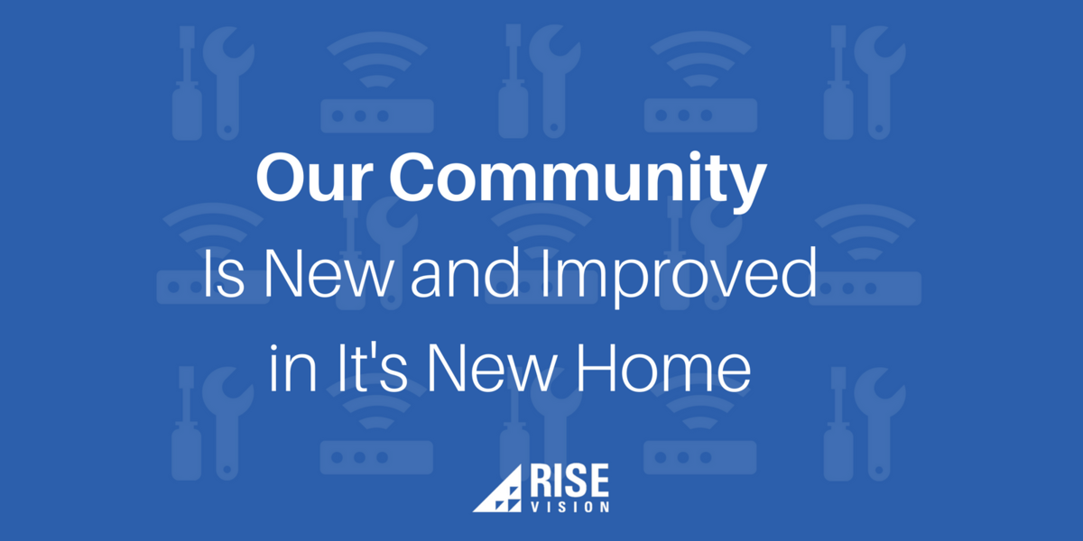 Rise Vision Digital Signage Community