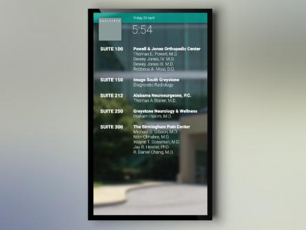 Greystone Digital Signage Directory