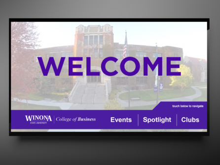 Interactive Kiosk Content for Winona State University
