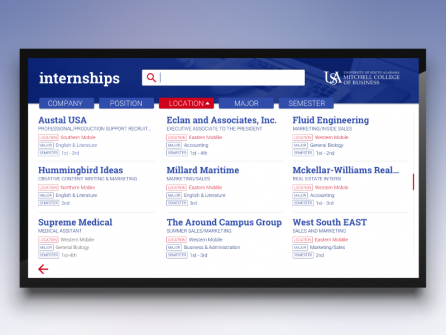 University of South Alabama Jobs Board
