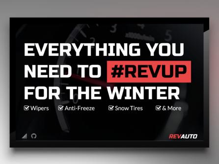 Auto Shop Digital Signage