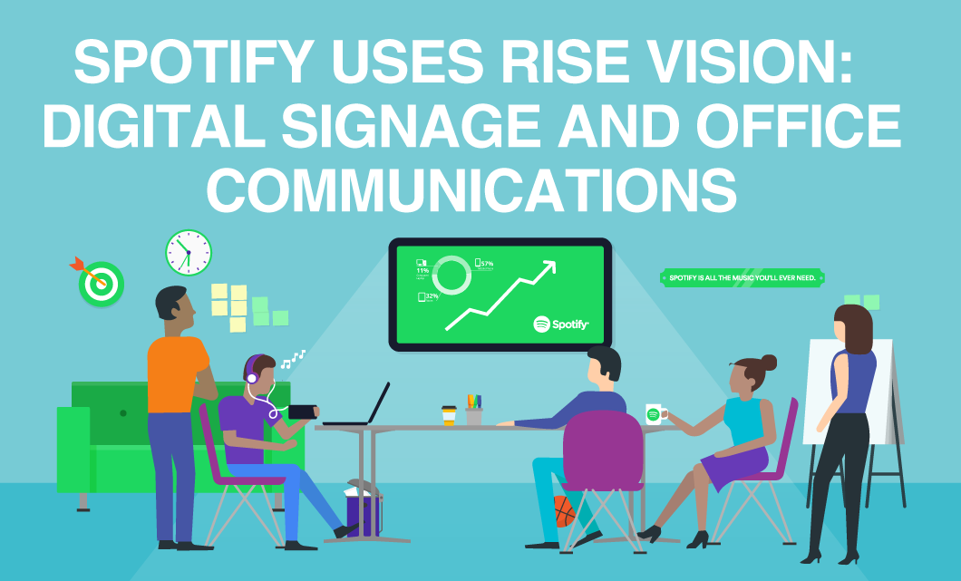 Spotify Uses Rise Vision