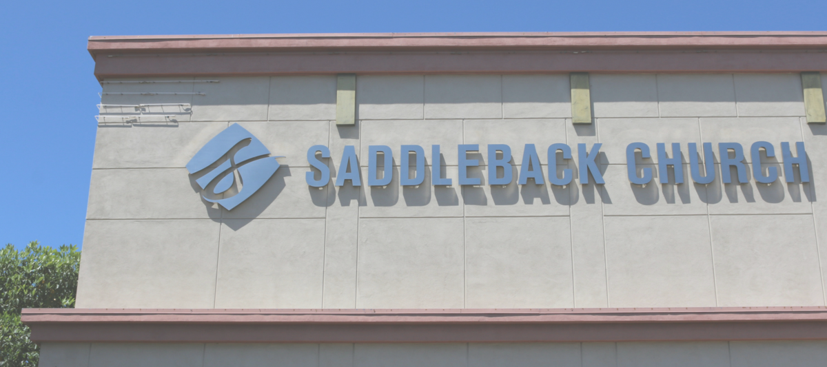 Digital Signage at Saddleback Church
