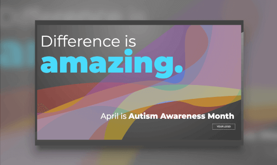 Autism Awareness Month - Waves