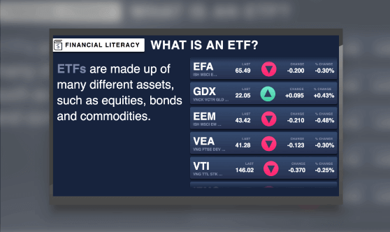 Financial Literacy - What is an ETF?