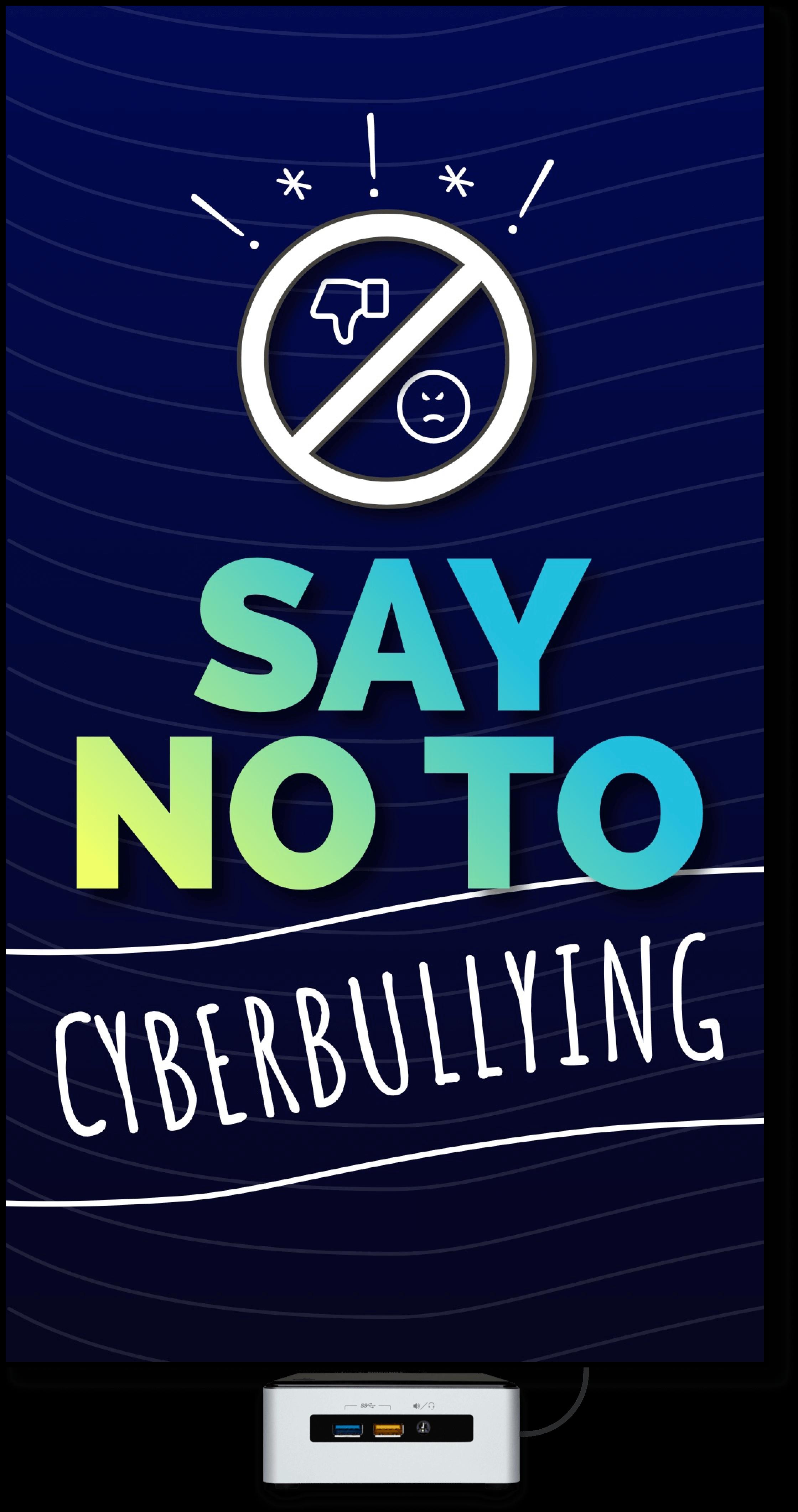 anti-bullying-digital-signage-poster