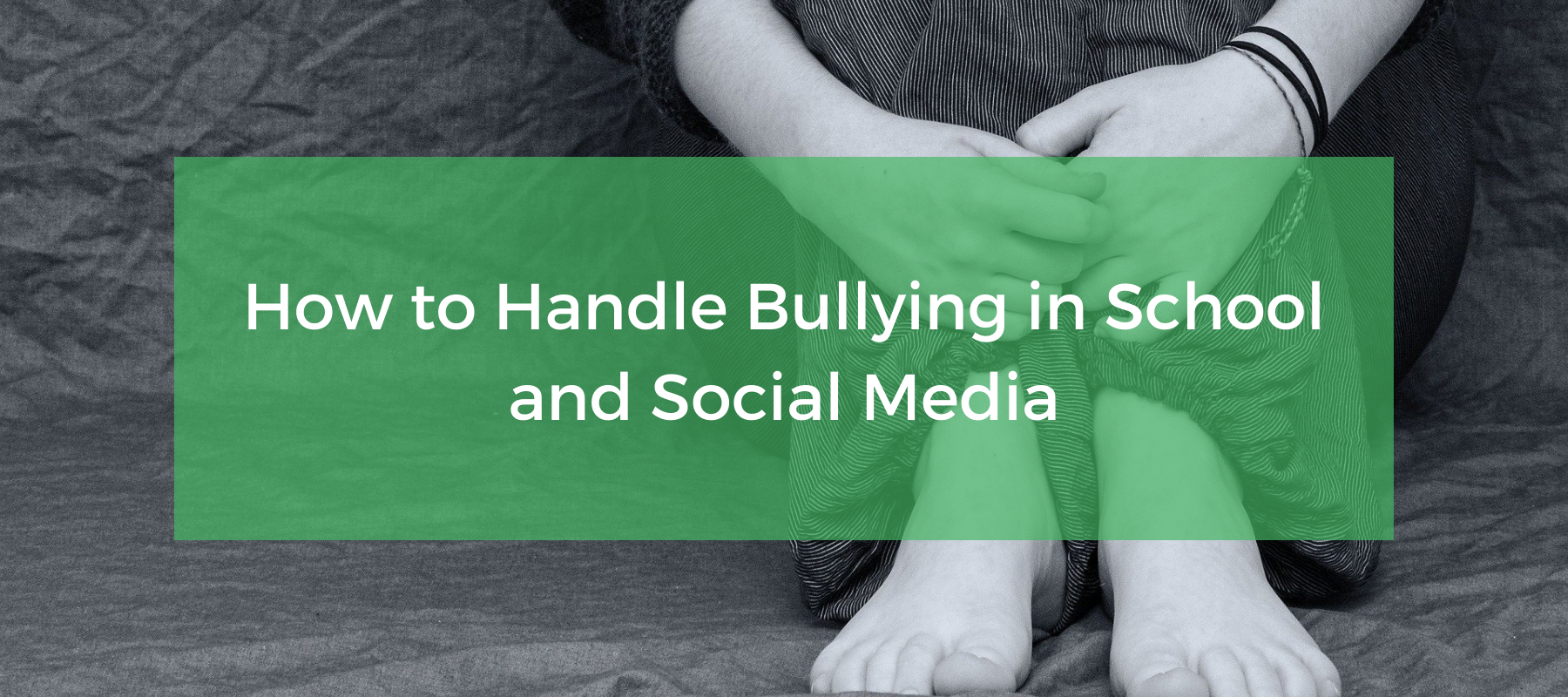 how to handle bullying in school and social media featured.