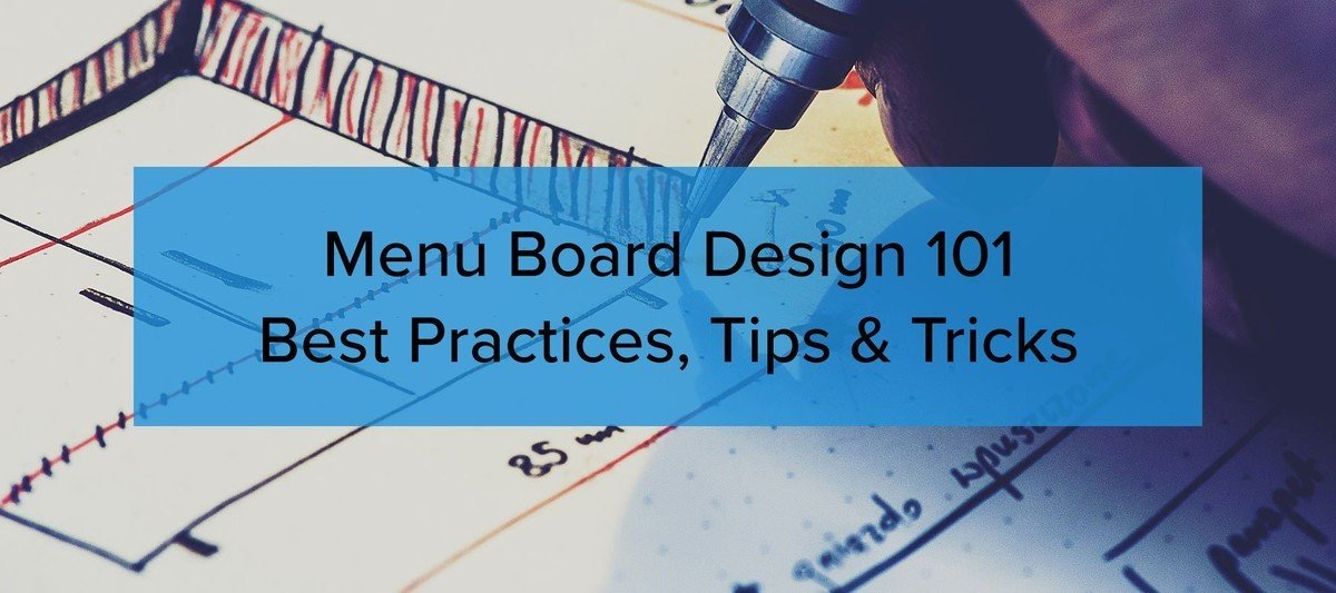 Menu Board Design Tips and Tricks