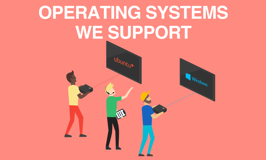 Which Operating Systems does Rise Support?