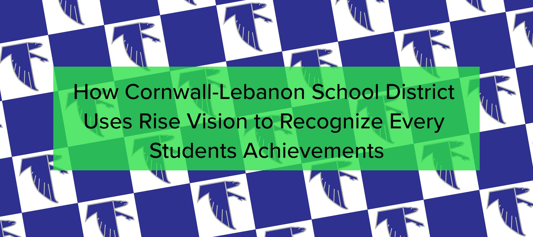 rise vision cornwall lebanon case study