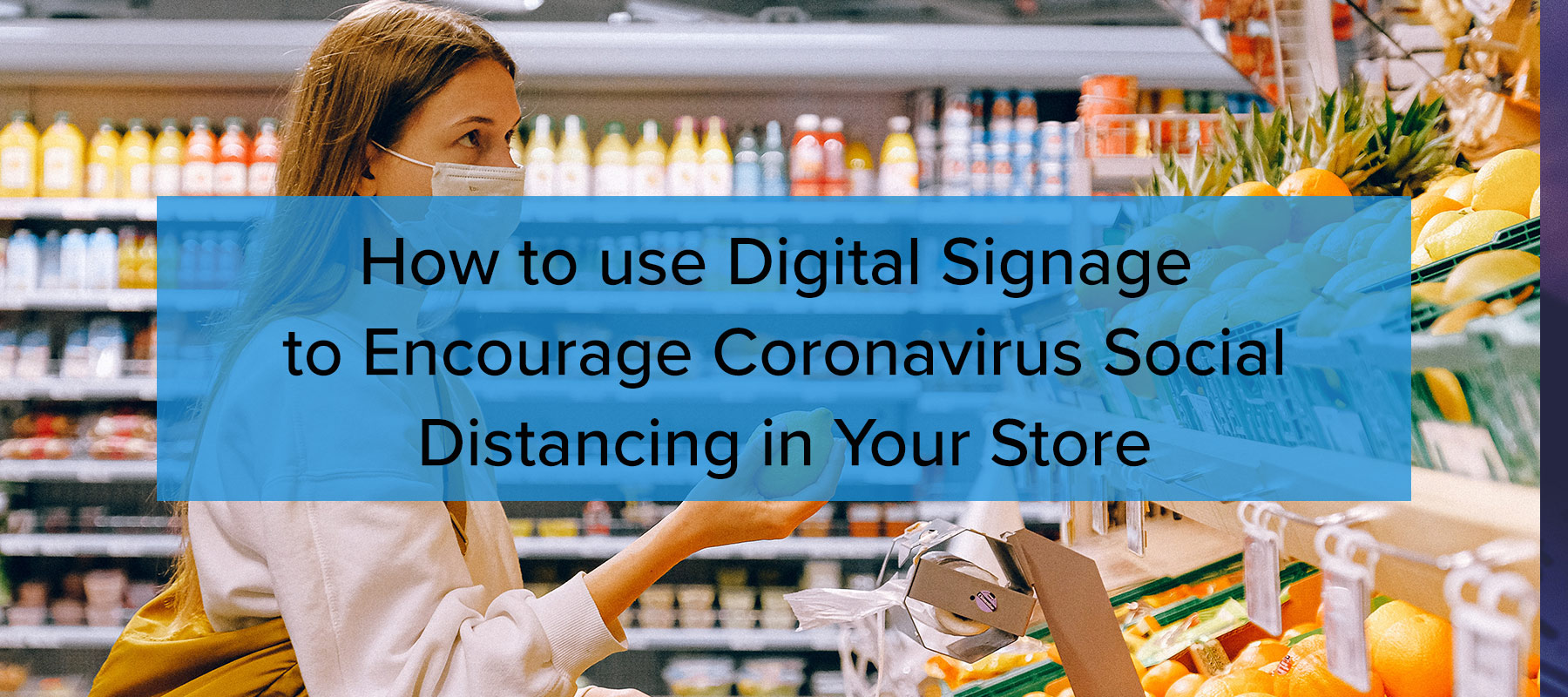 social distancing in your store