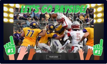 Sports Video Digital Signage Template