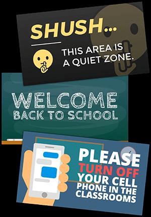 Free Digital Signage Templates
