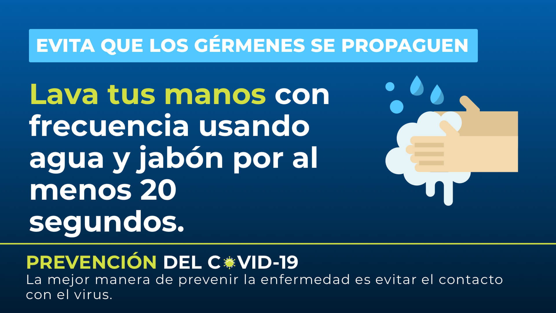 En Español - Consejo COVID-19 Digital Signage Template