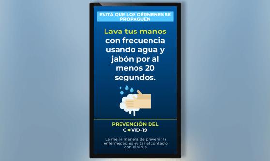 En Español - Consejo COVID-19 - Diseño Vertical