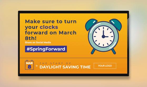 Daylight Saving Time Starts