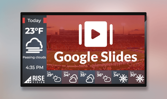 Google Slides and Simple Weather