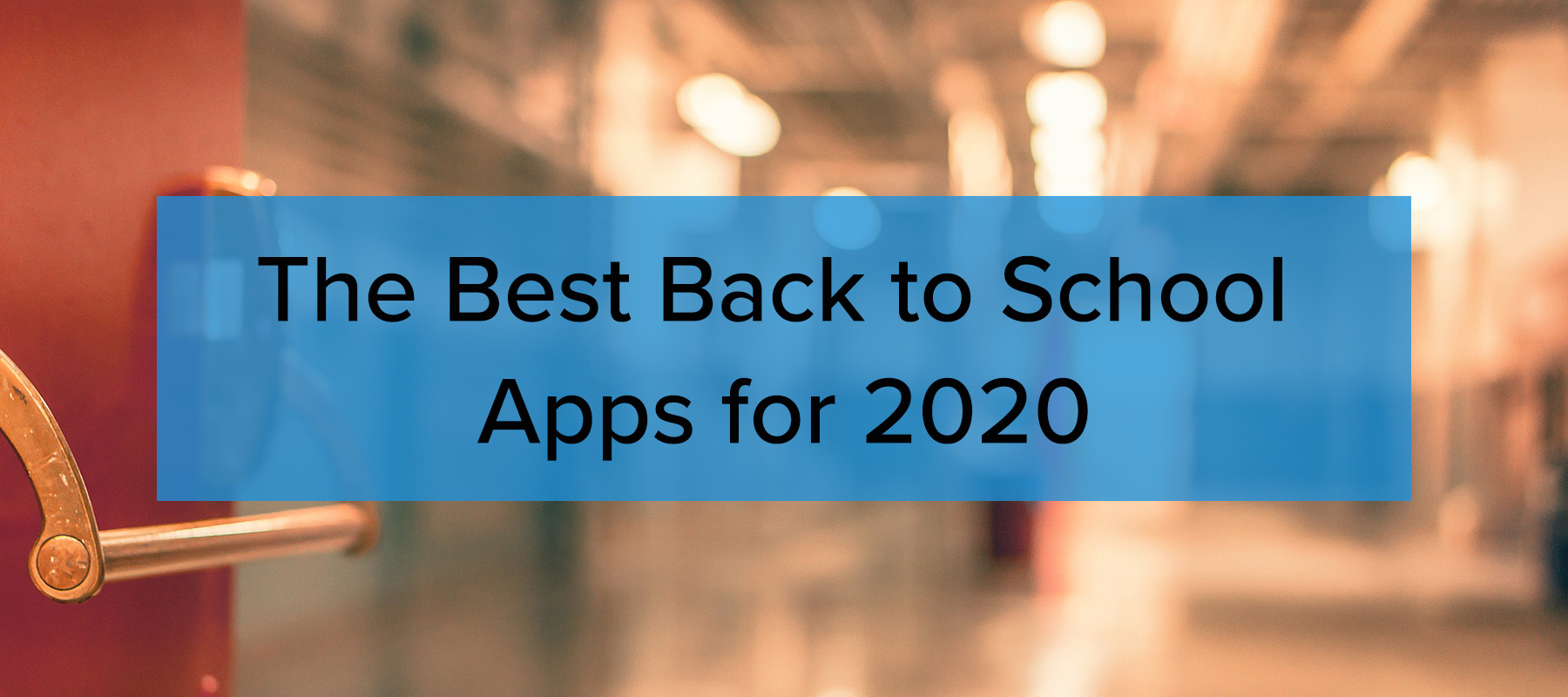 the best back to schools apps for 2020